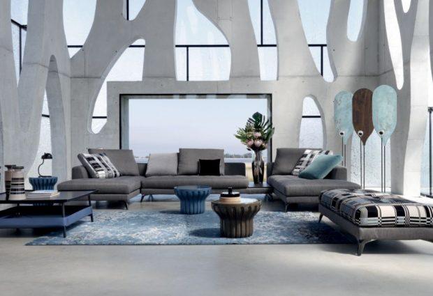 ספה יוקרתית דגם SYMBOLE מבית המותג ROCHE BOBOIS PARIS